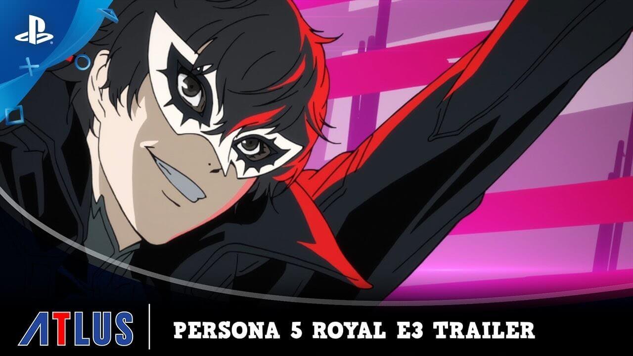 Foto de E3: Persona 5 Royal marca sua presença!
