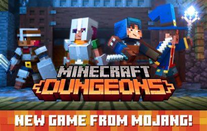 E3 Xbox: Minecraft: Dungeons confirmado para 2020