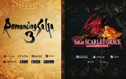 E3: Romacing Saga 3 e SaGa SCARLET GRACE: AMBITIONS estão chegando ao ocidente