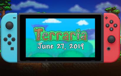 Terraria será lançado no Switch amanhã, dia 27 de Junho