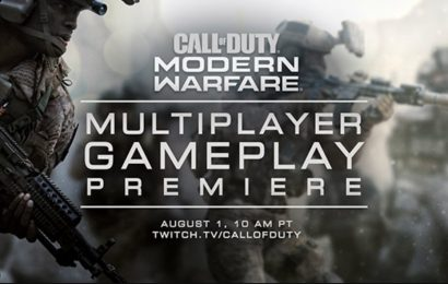 Call of Duty: Modern Warfare terá gameplay de multiplayer revelado em 1 de Agosto