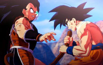 Dragon Ball Z Kakarot: Novas imagens de Raditz, Nappa e Vegeta