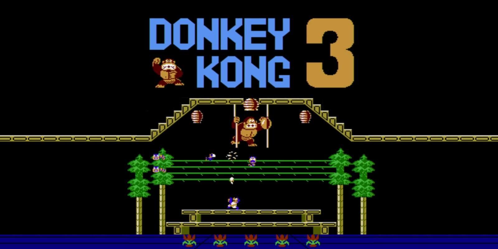 Foto de Donkey Kong 3 e mais recursos ainda nesse mês para Nintendo Switch Online