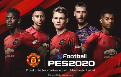 Manchester United retorna no eFootball PES 2020 com parceria
