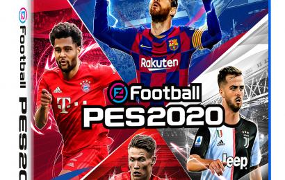 Capa global eFootball PES 2020 é divulgada, versão demo está disponível