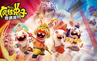 Rabbids: Adventure Party, um Mario Party, mas com Rabbids