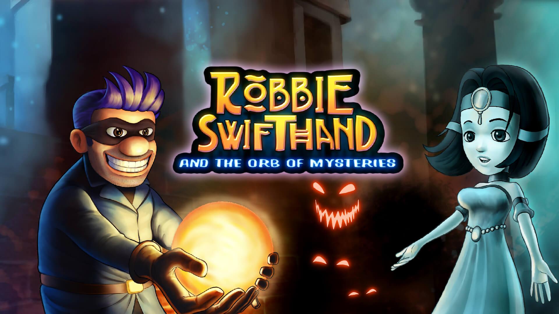 Foto de Robbie Swifthand and the Orb of Mysteries mostra como funciona o game design