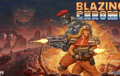Confira o trailer de lançamento de Blazing Chrome, jogo brasileiro que chega amanhã