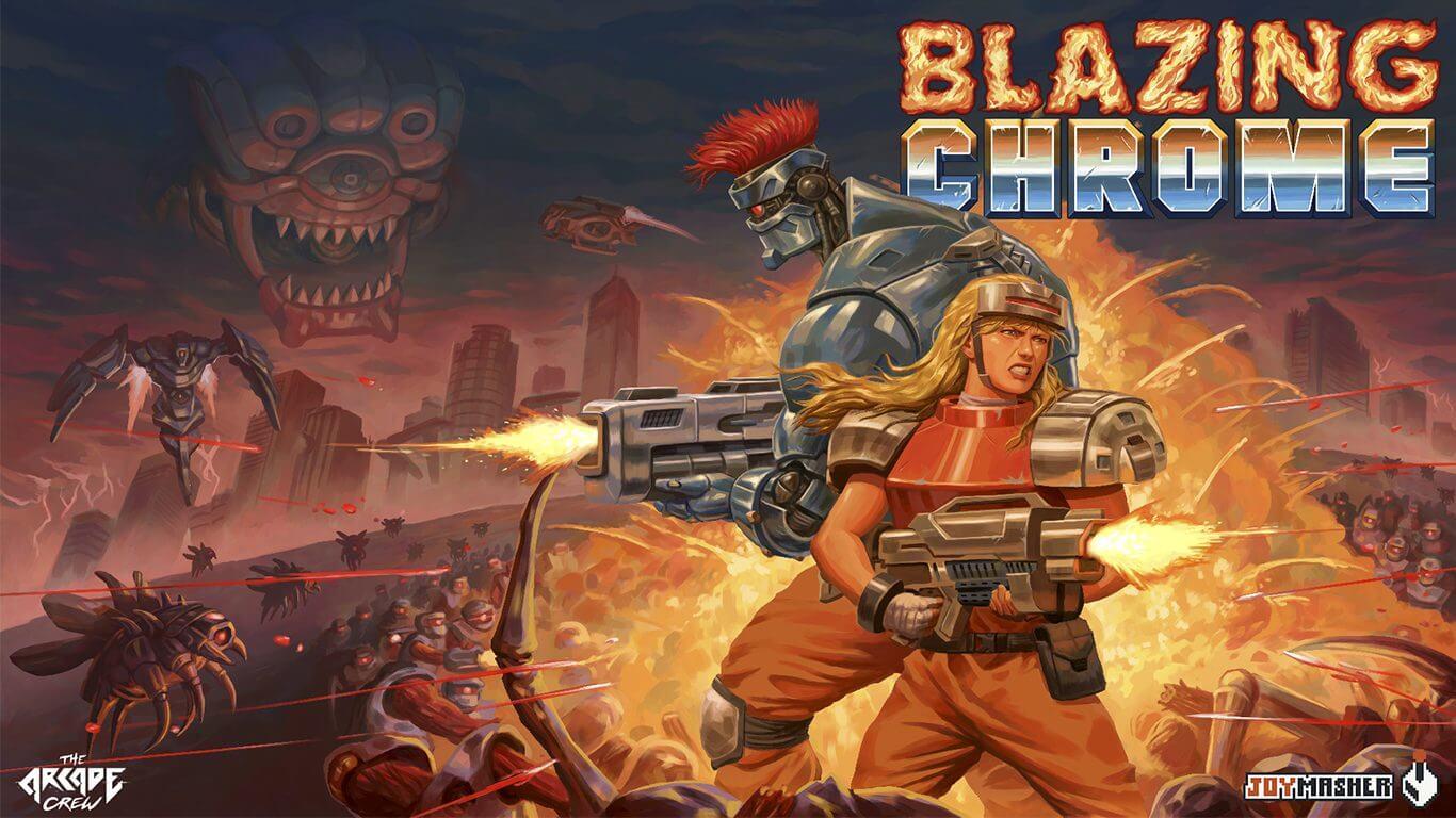 Foto de Blazing Chrome será lançado em mídia física