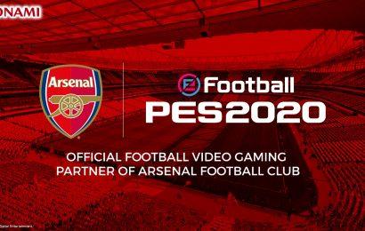 Arsenal amplia sua parceria com a Konami em PES 2020