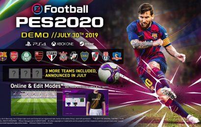 Demo de efootball PES 2020 é anunciada para Julho. Confira detalhes