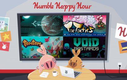 Humble Bundle fará live nessa sexta para anunciar novas parcerias