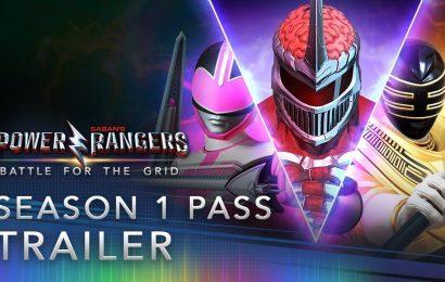 Power Ranger Battle for the Grid: Season Pass revela os novos lutadores