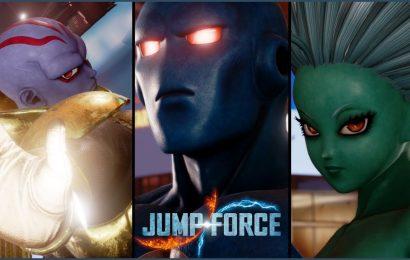 Jump Force: Galena, Prometheus e Kane serão habilitados via DLC gratuito
