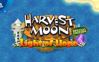 Harvest Moon: Light of Hope Special Edition Complete será lançado em 30 de Julho