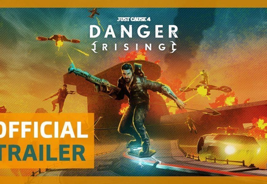 Just Cause 4: DLC Danger Rising ganha trailer