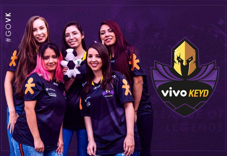 Equipe Keyd anuncia time feminino de League of Legends