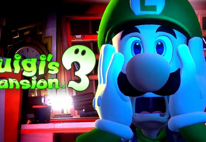 Novo Gameplay de Luigi's Mansion 3 na Gamescom