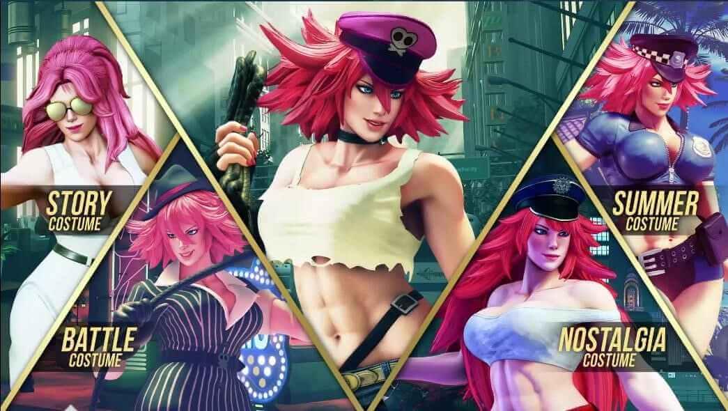 Foto de Street Fighter V: introdução de Poison, o veneno viciante!