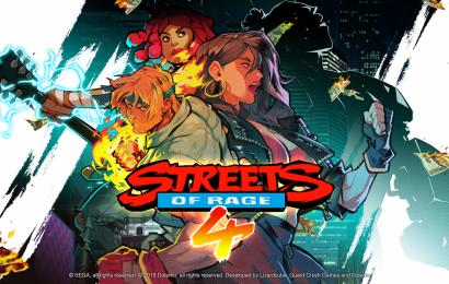 Streets of Rage 4 será lançado em 2020