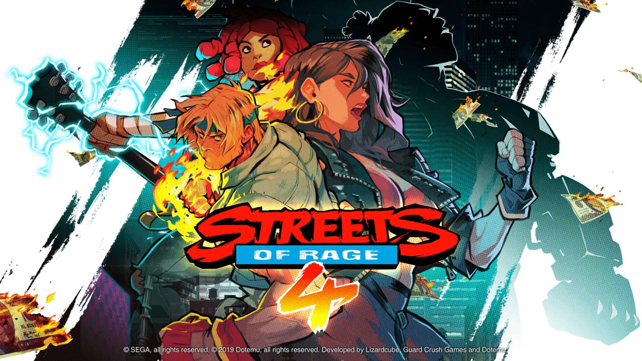 Foto de Streets of Rage 4: Personagens em pixel-art e mais