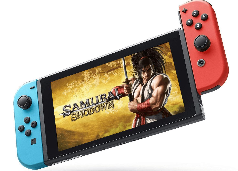 Foto de Samurai Shodown para Nintendo Switch será lançado em Fevereiro