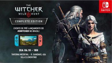 Foto de The Witcher 3 para Switch terá evento de lançamento em São Paulo