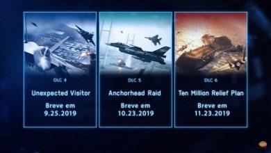 Foto de ACE COMBAT 7: SKIES UNKNOWN tem data de DLC's revelados