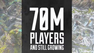 Foto de Apex Legends atinge a marca de 70 Milhões de jogadores