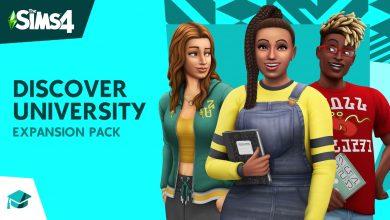Foto de The Sims 4 Discover University disponível Novembro