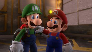 Foto de Luigi chega ao Super Mario Lego Set