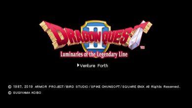 Foto de Análise: Dragon Quest II HD Switch