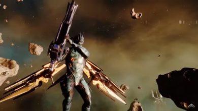 Foto de Warframe chegará para Playstation 5 ainda este ano.