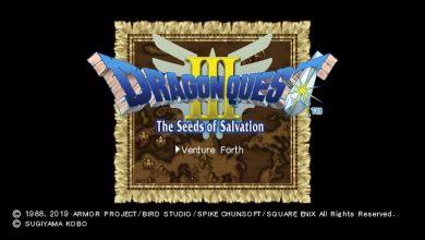 Foto de Análise: Dragon Quest III HD Switch