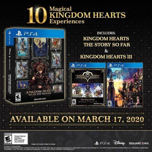 Coletânea Kingdom Hearts