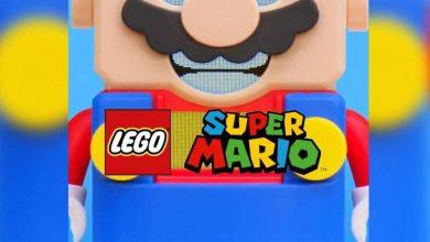 Foto de Um Super Mario Lego? Será?
