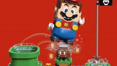 Foto de LEGO e Nintendo revelam alguns detalhes incríveis de LEGO Super Mario