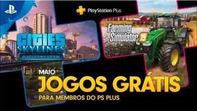 Foto de PlayStation anuncia jogos gratuitos da PS Plus de maio