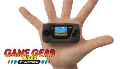 Foto de Game Gear Micro é anunciado.