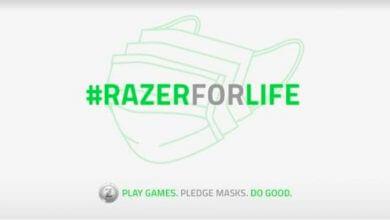 Foto de Razer Brasil distribui 20 mil máscaras