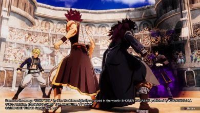 Foto de Análise: Fairy Tail – Viver um RPG de turnos na época da pancadaria