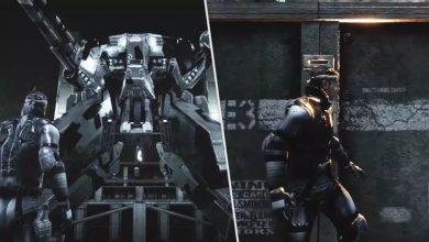 Foto de Fã recria Metal Gear Solid em Unreal 4!
