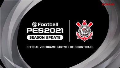 Foto de Konami anunciou parceria global com Corinthians para eFootball PES 2021