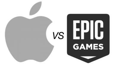 Foto de Apple está finalizando as contas da Epic Games