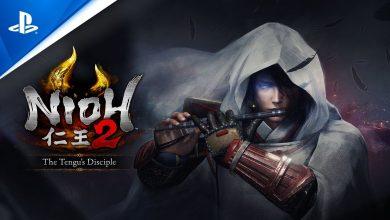 Foto de The Tengu's Disciple DLC de Nioh 2 disponível