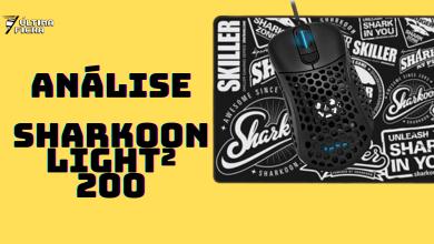 Foto de Análise: Mouse Sharkoon Light 200², ULTRALEVE
