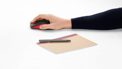 Foto de Logitech lança mouse M190 sem fio e ergonômico para mãos maiores