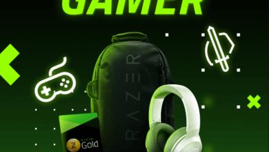 Foto de Razer Gold com promoção exclusiva até 10/9