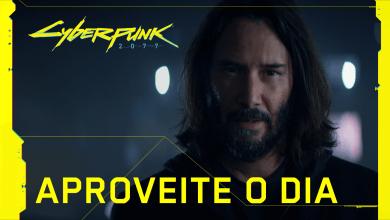 Foto de Keanu Reeves estrela comercial de Cyberpunk 2077