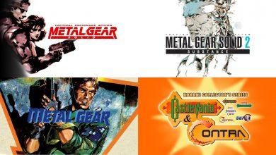 Foto de Metal Gear e Konami Collector's Series: Castlevania & Contra vive de altos e baixos